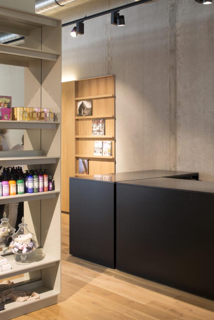 Interior Design: PHILIPP MAINZER OFFICE FOR ARCHITECTURE AND DESIGN,  Planning Phases 1 3, 5 8; Team: Farah Ebrahimi, Rocco Spena, Elena Bühler  ...